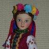 Украинский женский летний костюм Киевской губернии