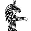 Как сделать детский костюм лошади (зебры) своими руками