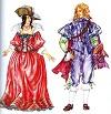 Французский костюм 2-й половины 17 века (эпохи Людовика XIV)