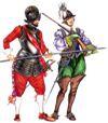 Западноевропейский костюм первой половины 17 века