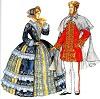 Европейская мода второй половины 19 века (Второе Рококо)