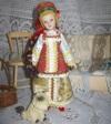 Летний женский костюм Костромской губернии