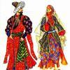 Турецкий костюм в Османской империи