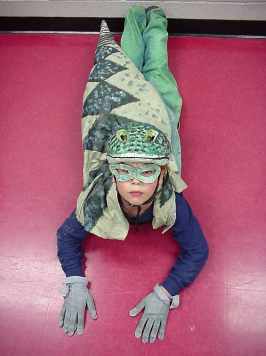 Костюм змеи для мальчика своими руками