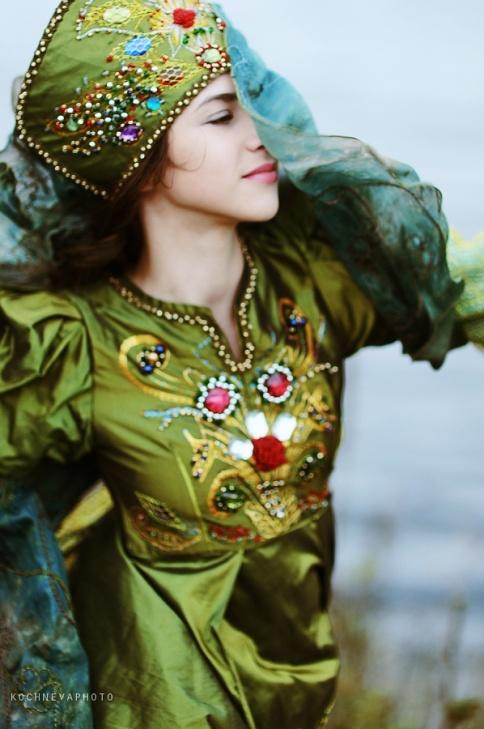 Карнавальный костюм Змея Кобра Ящерица Хозяйка медной
