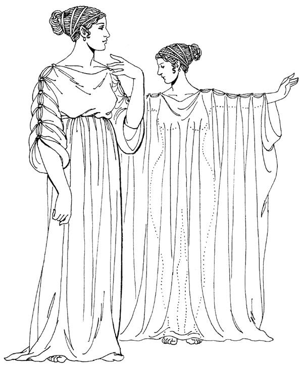 Греческий хитон
