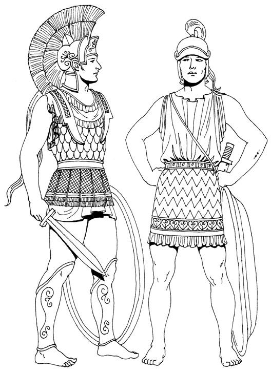 Одежда древней греции картинки