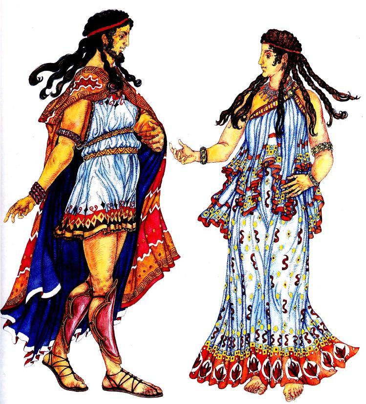 История костюма древней греции