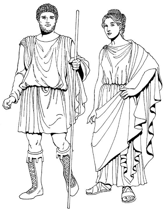 72b73427b39 Одежда Древнего Рима. Картинки