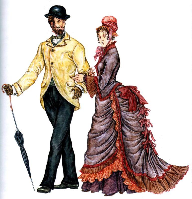 Современные женские платья под 19 век