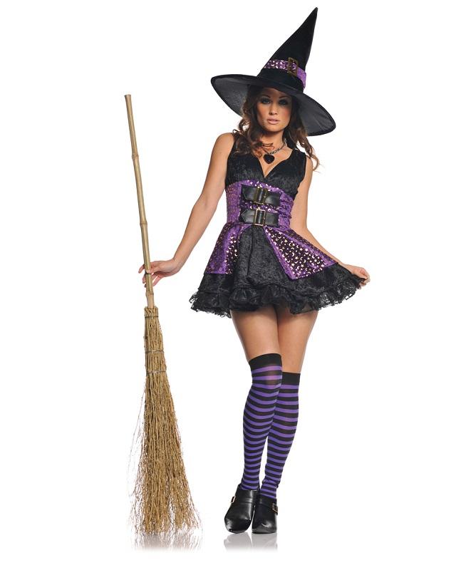 Как сделать костюм ведьмы на хэллоуин
