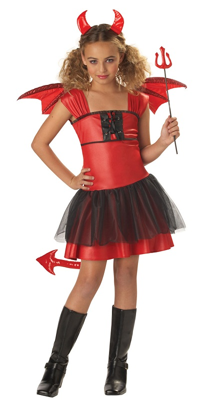 how to make a devil costume for girls