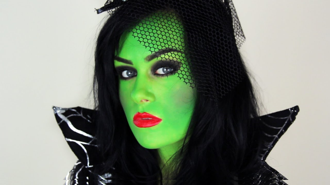 witch make up ideas: Green witch