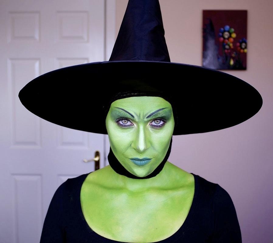 Макияж на ведьму фото