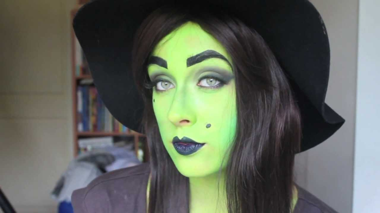 wicked witch make up